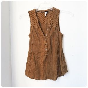 Anthropologie Akemi + Kin popover swing tank top 4